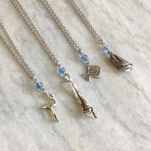 Sterling Charm Necklaces